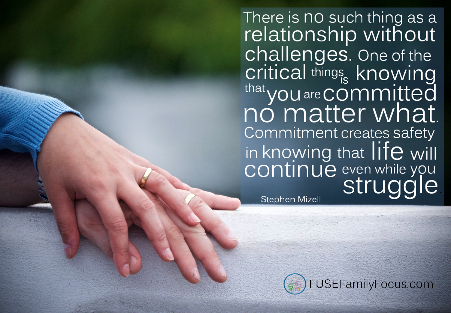 there is no such thing as a relationship without challenges
